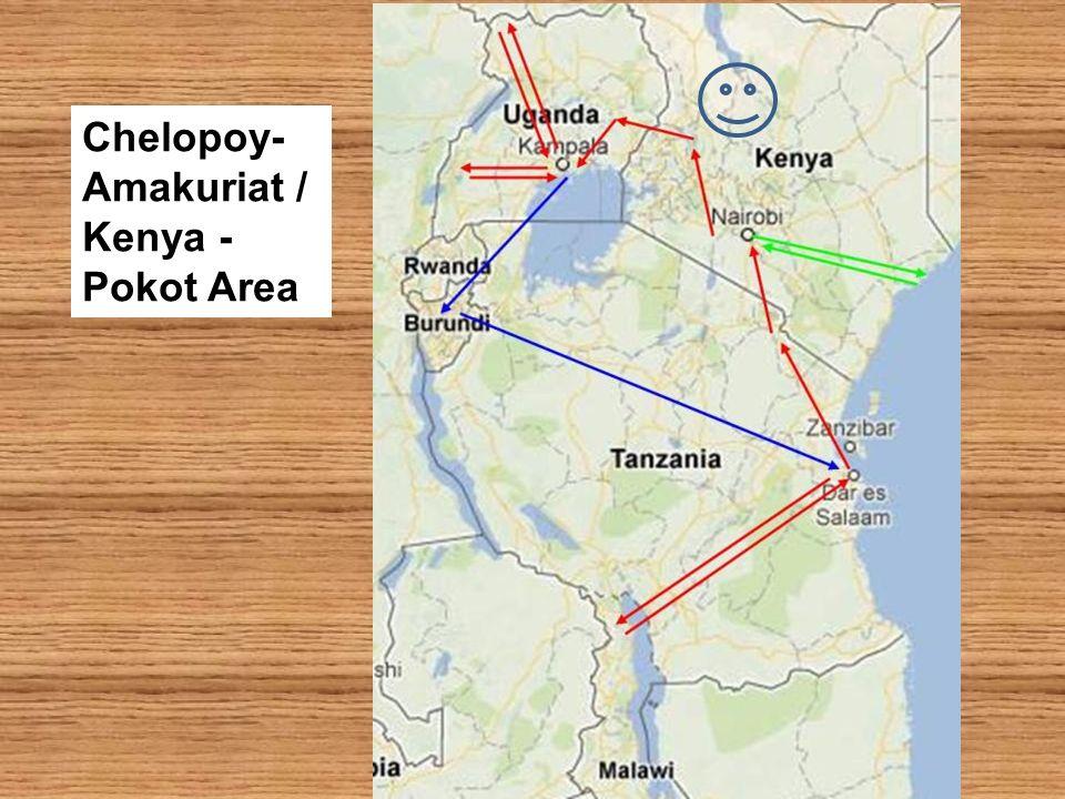 Chelopoy-Amakuriat / Kenya - Pokot Area