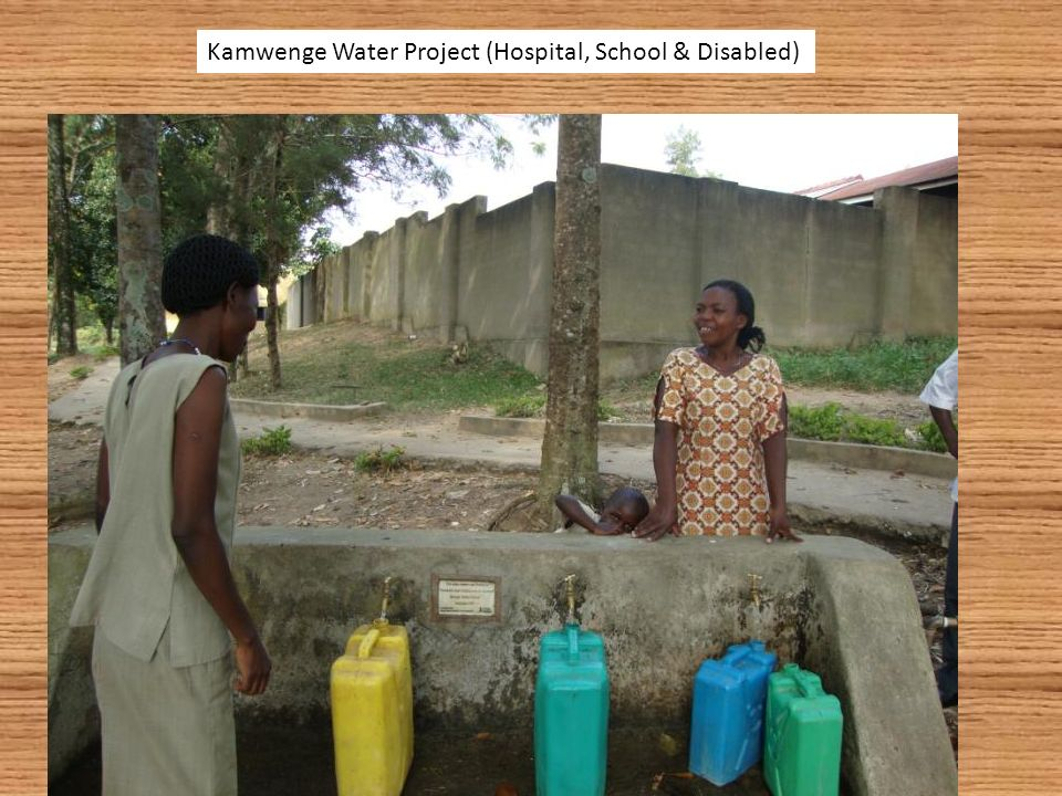 Kamwenge Water Project (Hospital, School & Disabled)