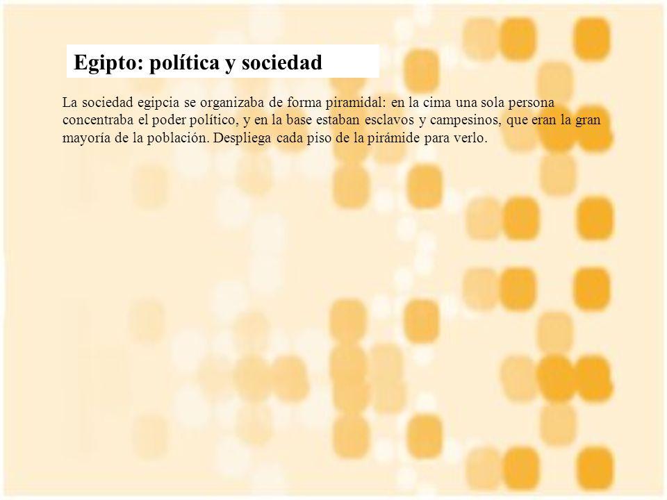 Egipto: política y sociedad