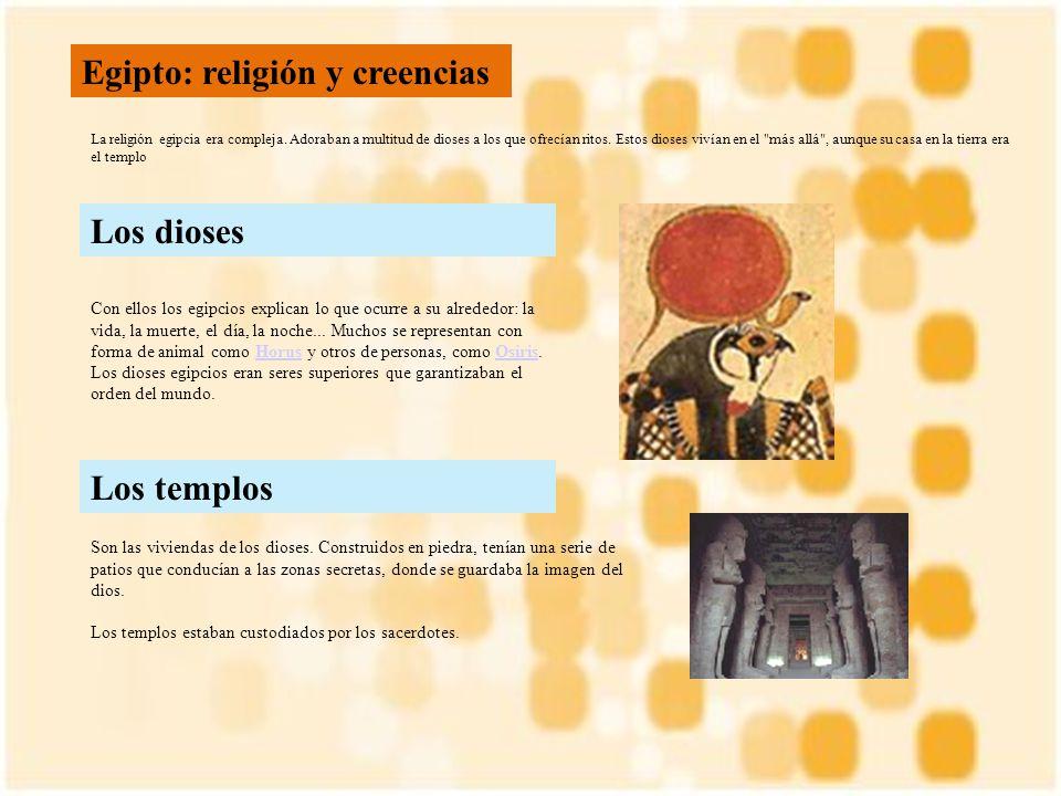 Egipto: religión y creencias