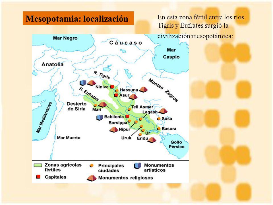 Mesopotamia: localización