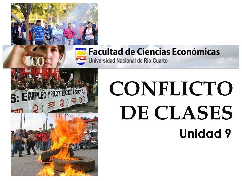CONFLICTO DE CLASES Unidad 9