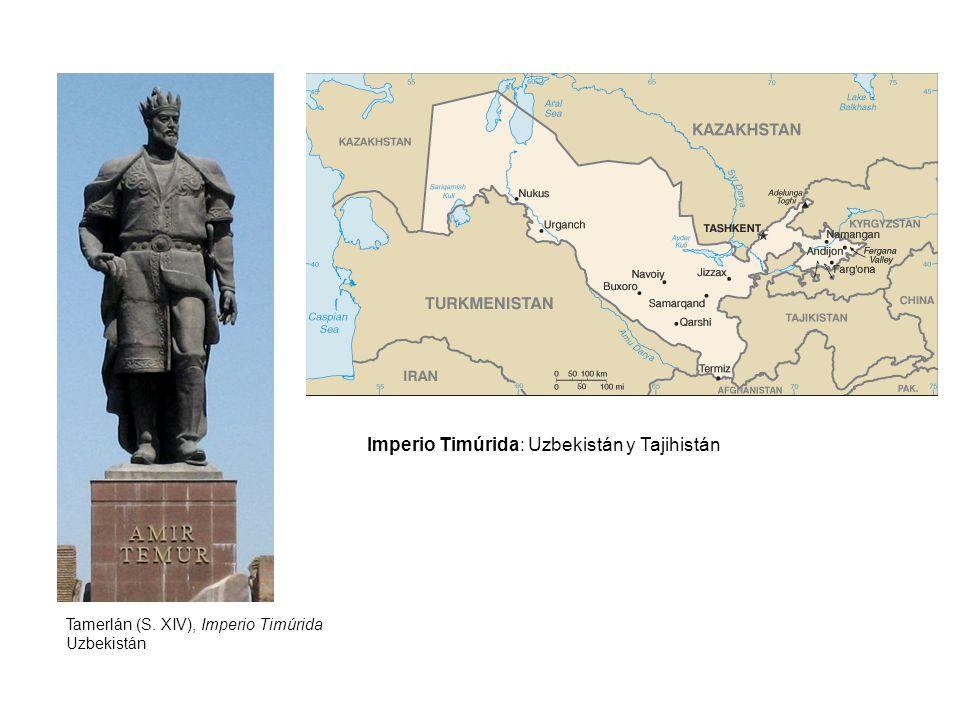 Imperio Timúrida: Uzbekistán y Tajihistán