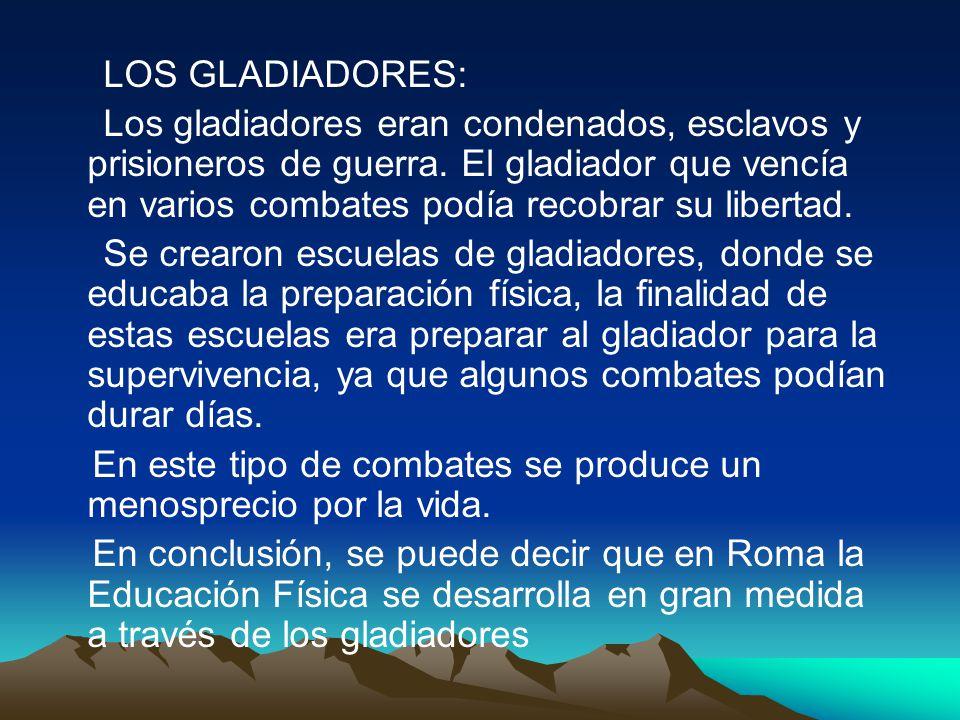 LOS GLADIADORES: