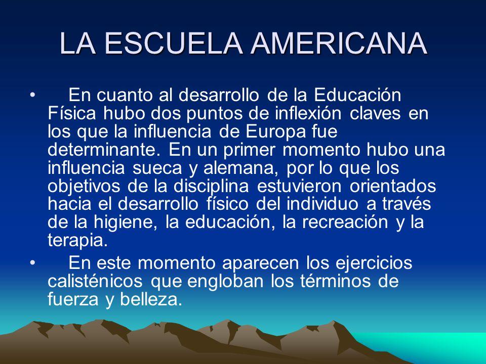 LA ESCUELA AMERICANA