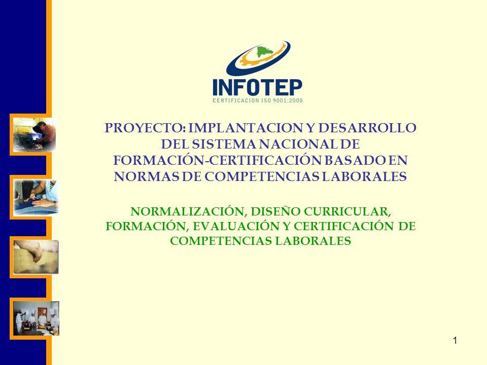 PROYECTO: IMPLANTACION Y DESARROLLO DEL SISTEMA NACIONAL DE