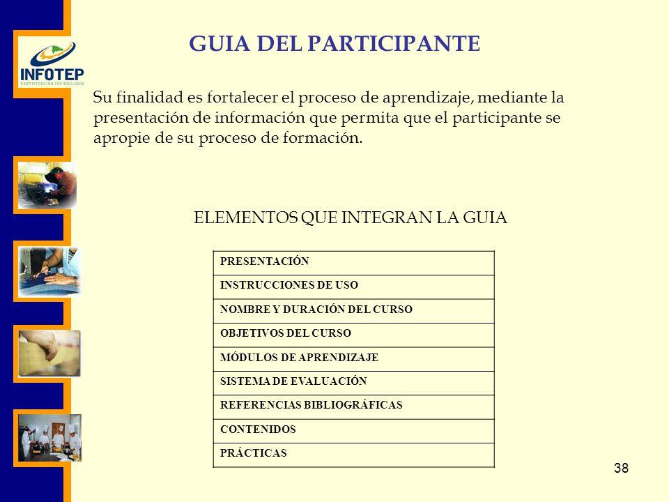 GUIA DEL PARTICIPANTE