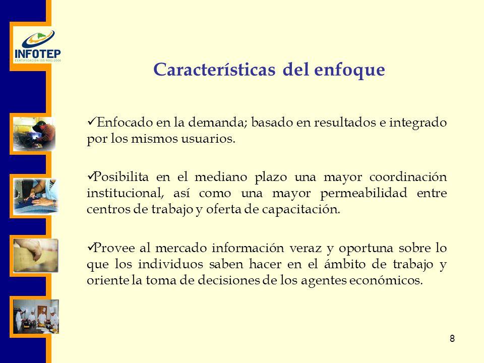 Características del enfoque