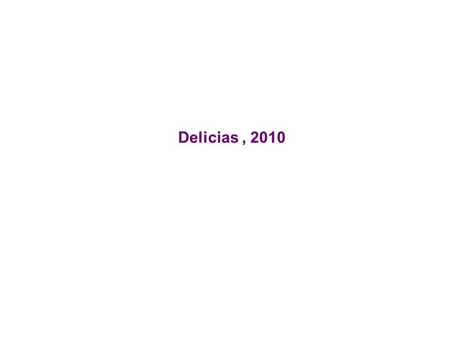 Delicias , 2010