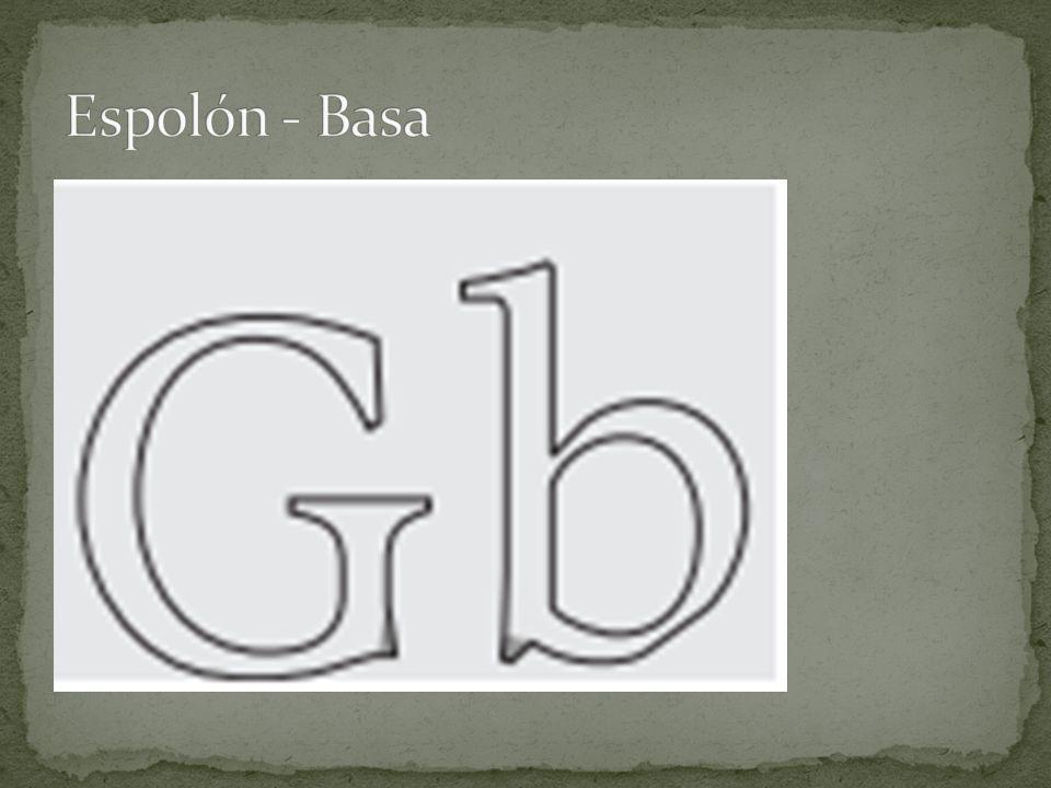 Espolón - Basa