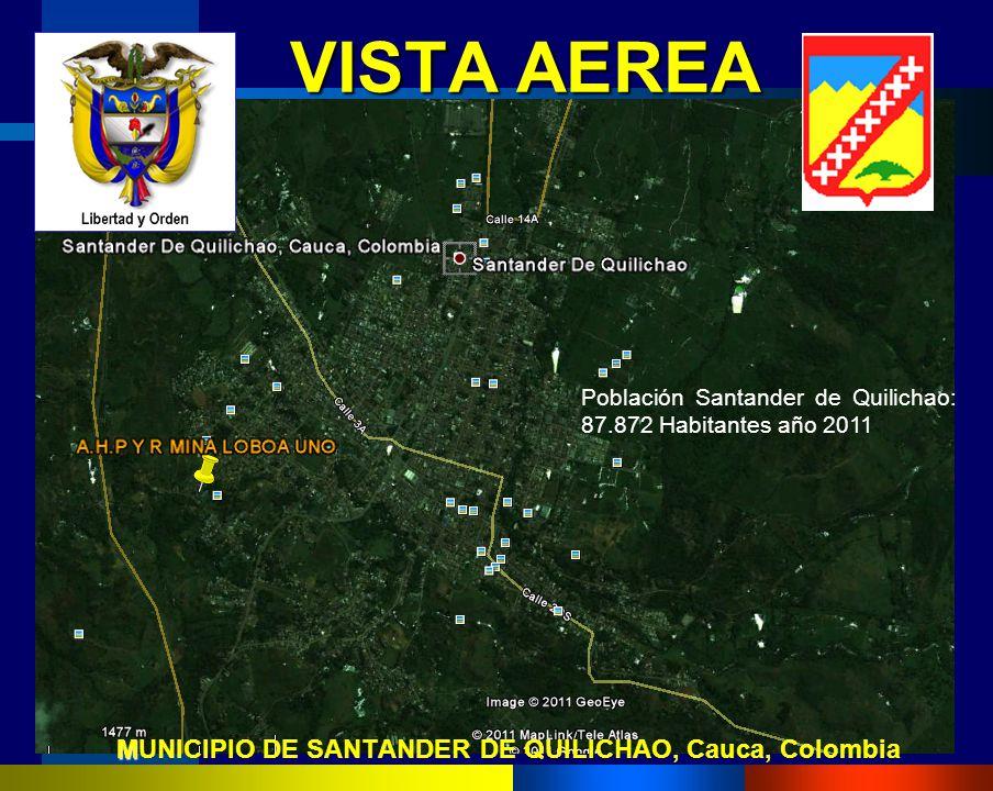 MUNICIPIO DE SANTANDER DE QUILICHAO, Cauca, Colombia