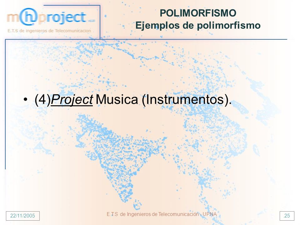POLIMORFISMO Ejemplos de polimorfismo