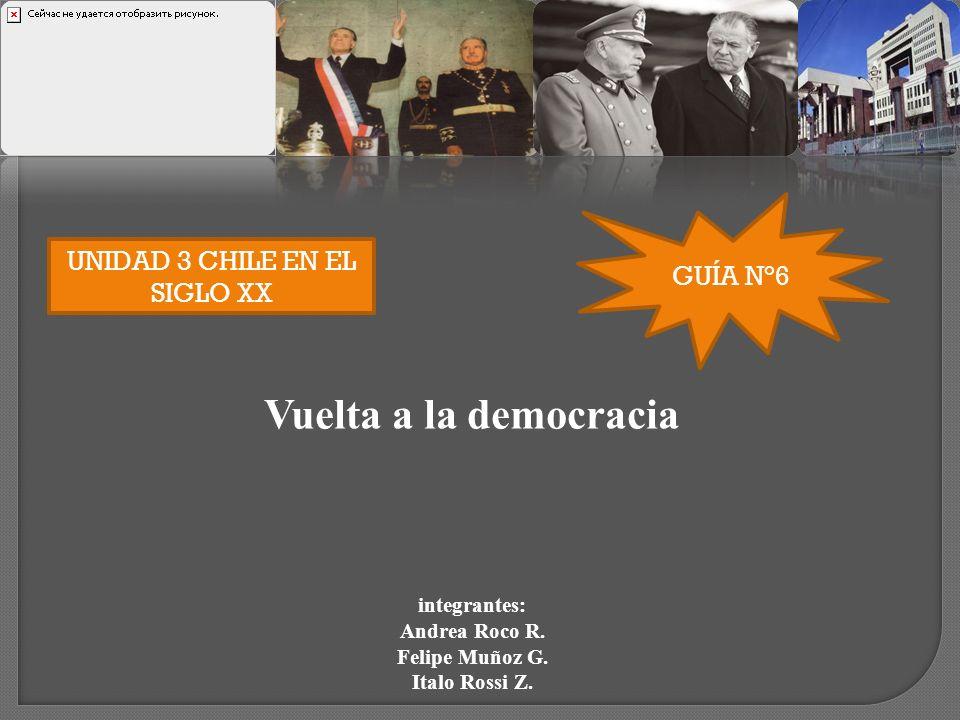 UNIDAD 3 CHILE EN EL SIGLO XX