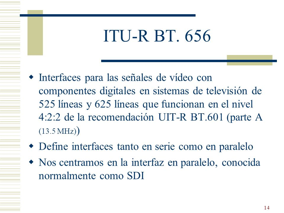ITU-R BT. 656
