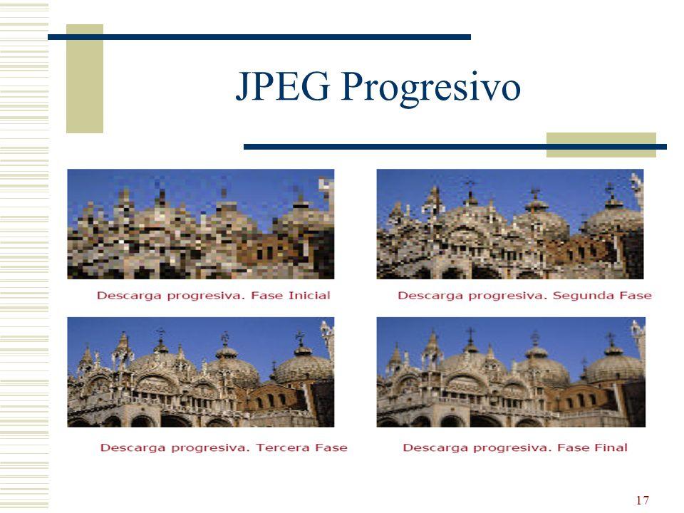 JPEG Progresivo
