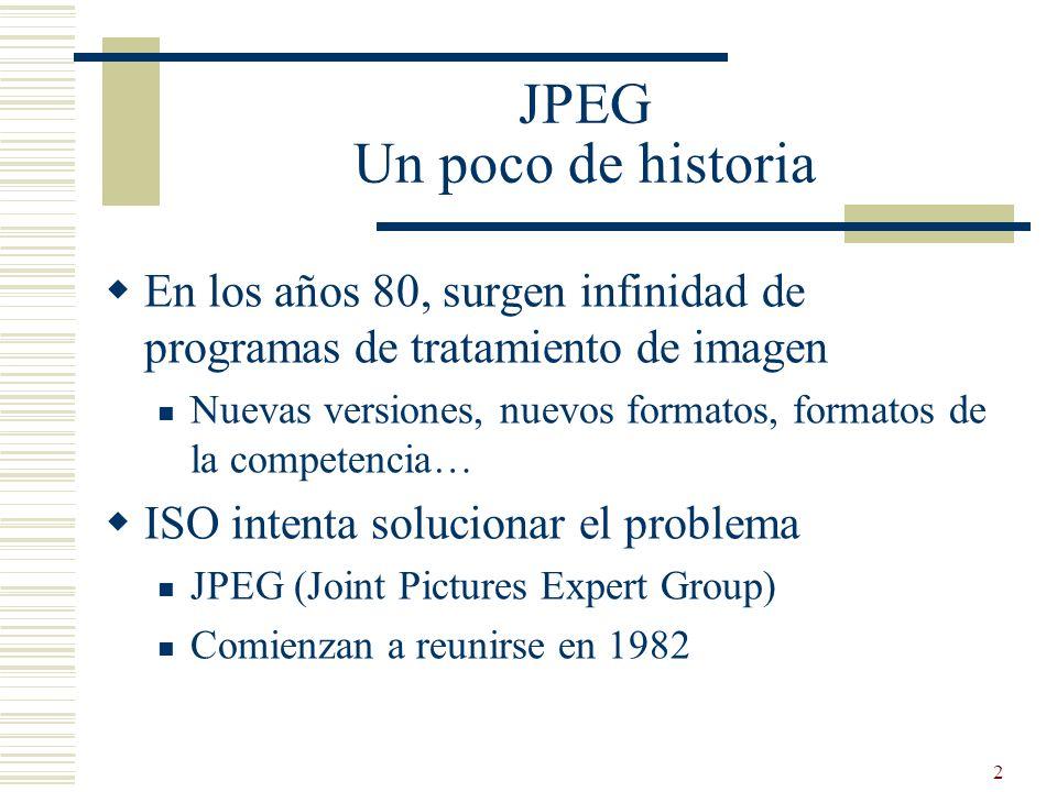 JPEG Un poco de historia