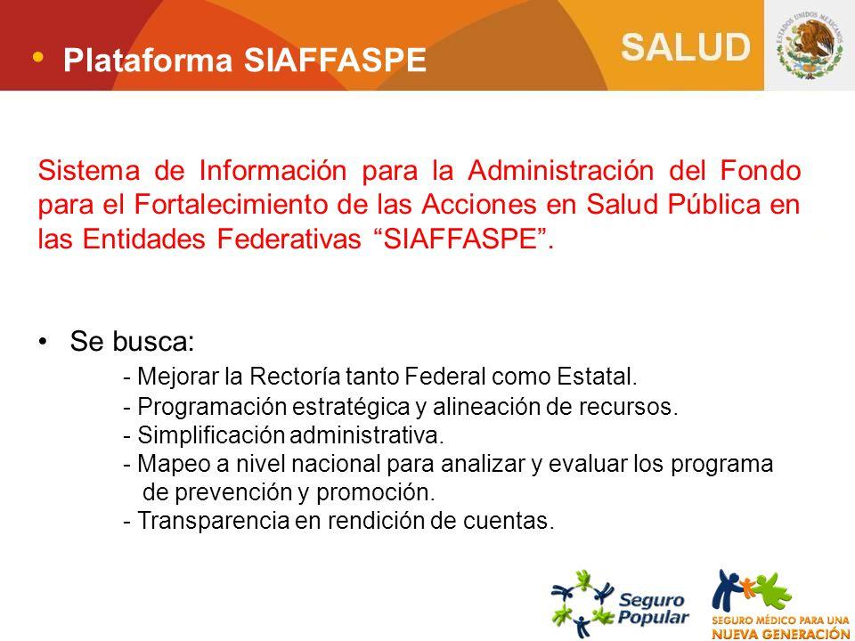 Plataforma SIAFFASPE