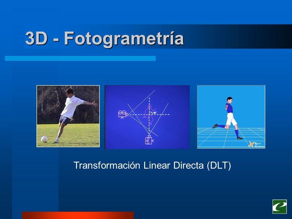 3D - Fotogrametría Transformación Linear Directa (DLT)
