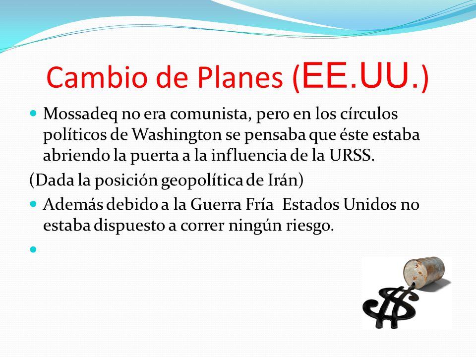 Cambio de Planes (EE.UU.)