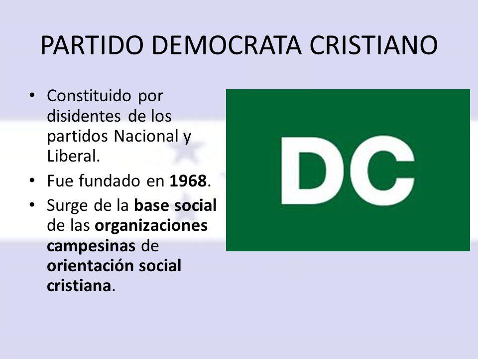 PARTIDO DEMOCRATA CRISTIANO