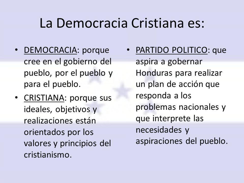 La Democracia Cristiana es: