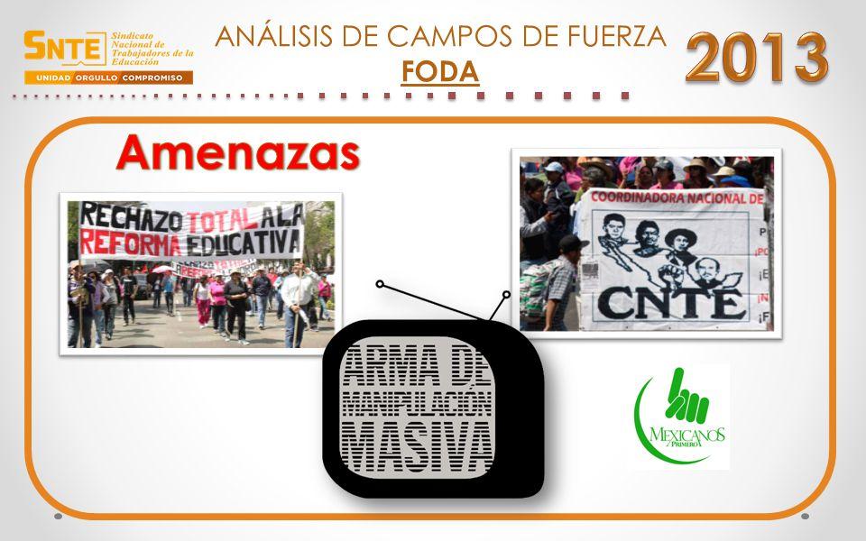 ANÁLISIS DE CAMPOS DE FUERZA