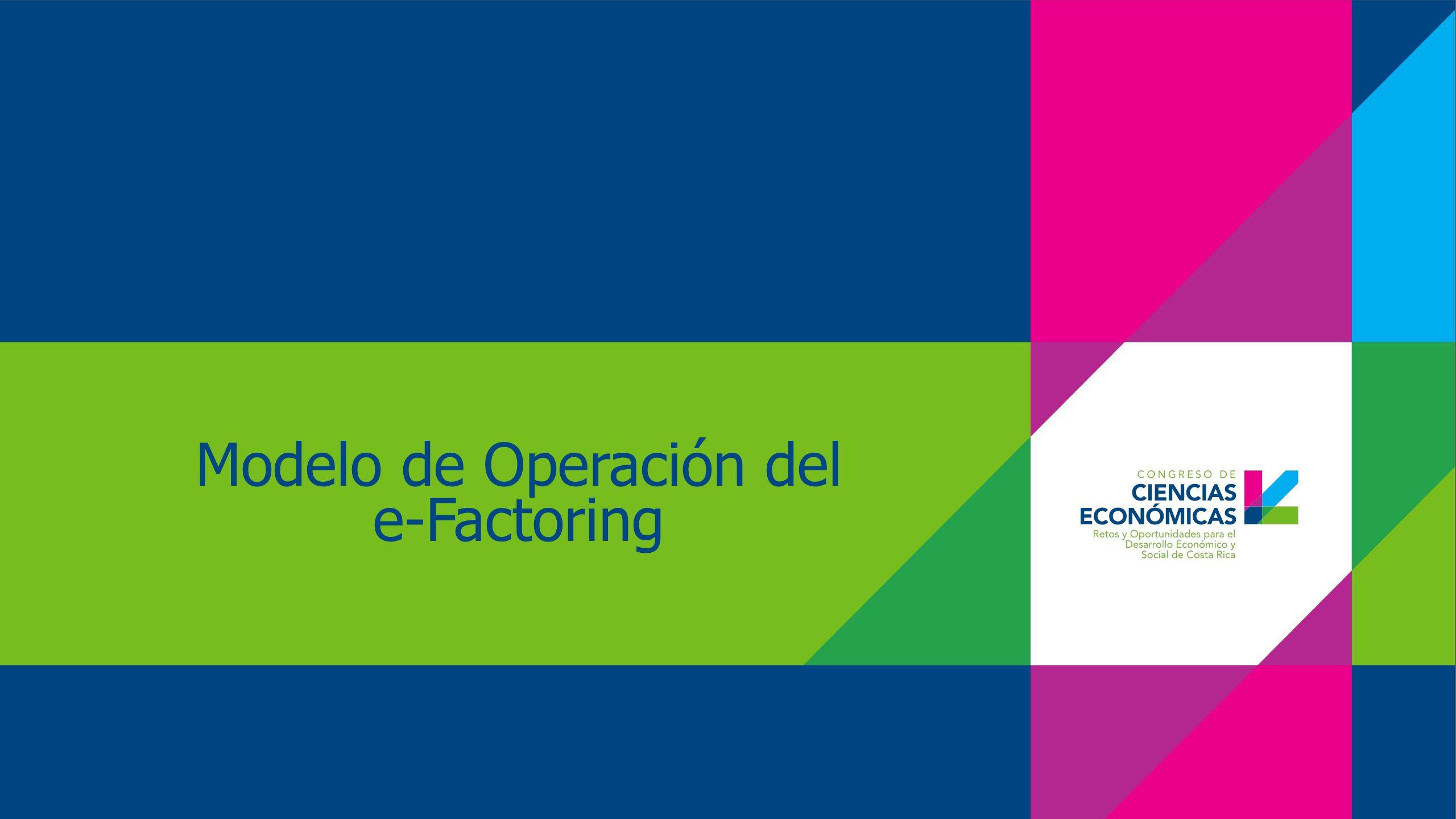 Modelo de Operación del e-Factoring