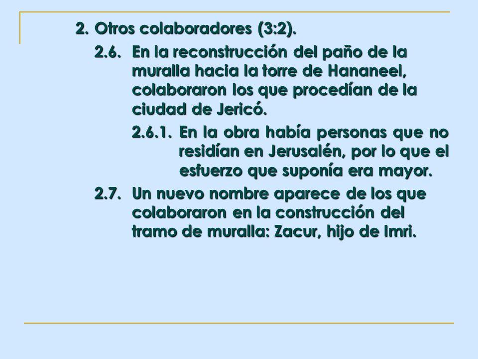 2. Otros colaboradores (3:2).