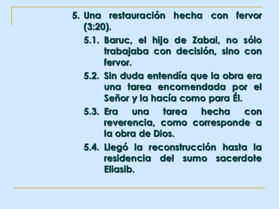 5. Una restauración hecha con fervor (3:20).