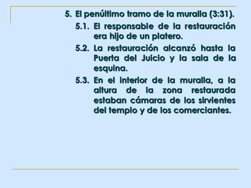 5. El penúltimo tramo de la muralla (3:31).