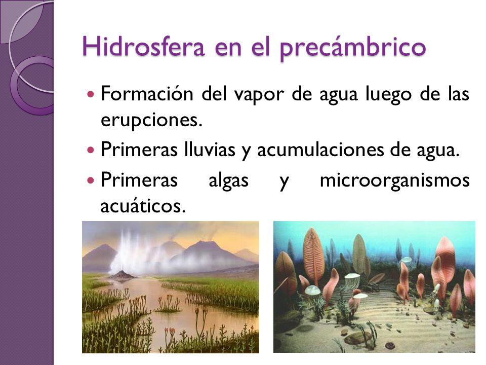 Hidrosfera en el precámbrico