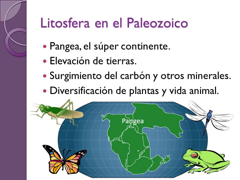 Litosfera en el Paleozoico