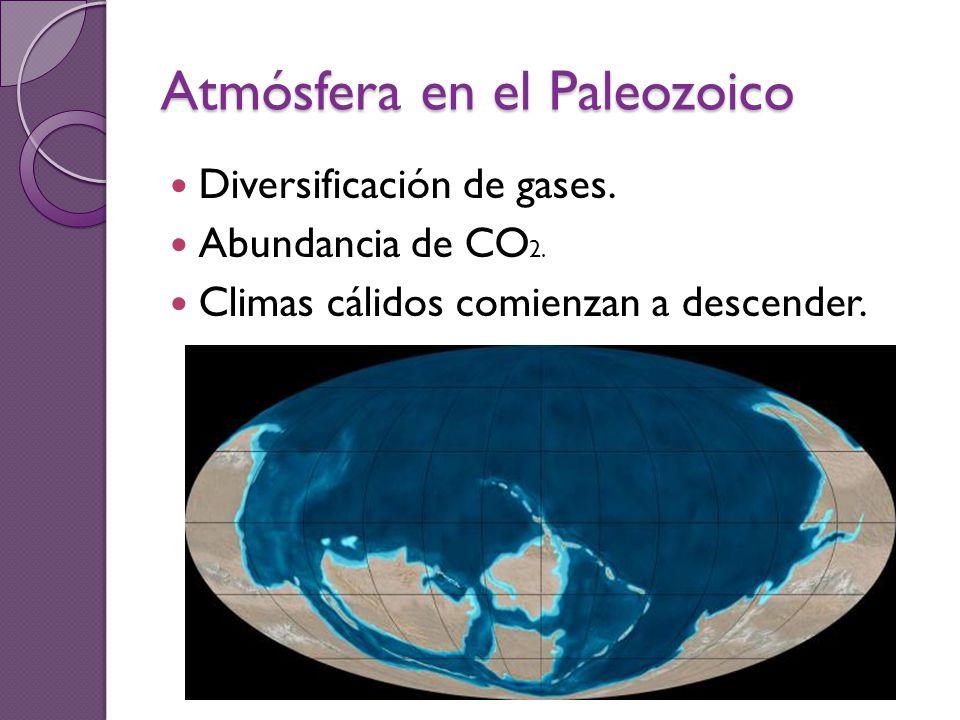 Atmósfera en el Paleozoico