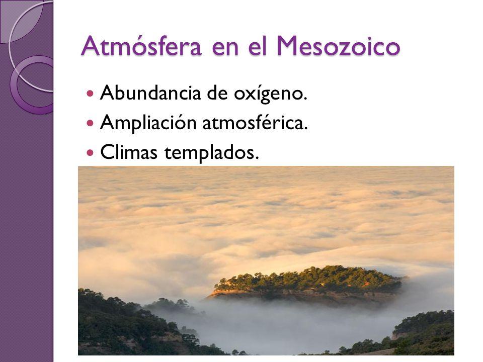 Atmósfera en el Mesozoico