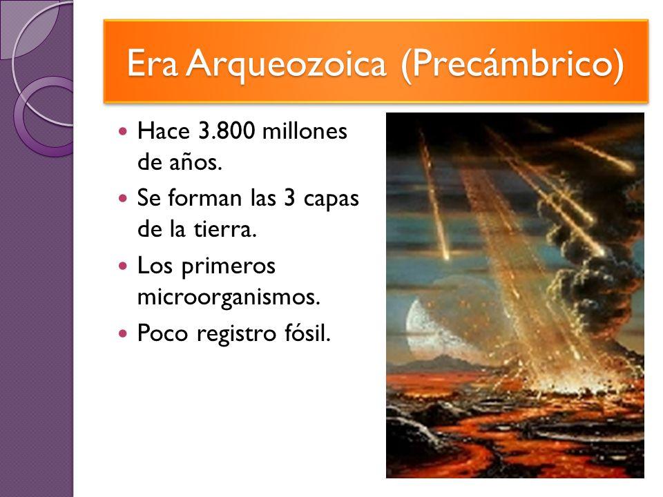 Era Arqueozoica (Precámbrico)