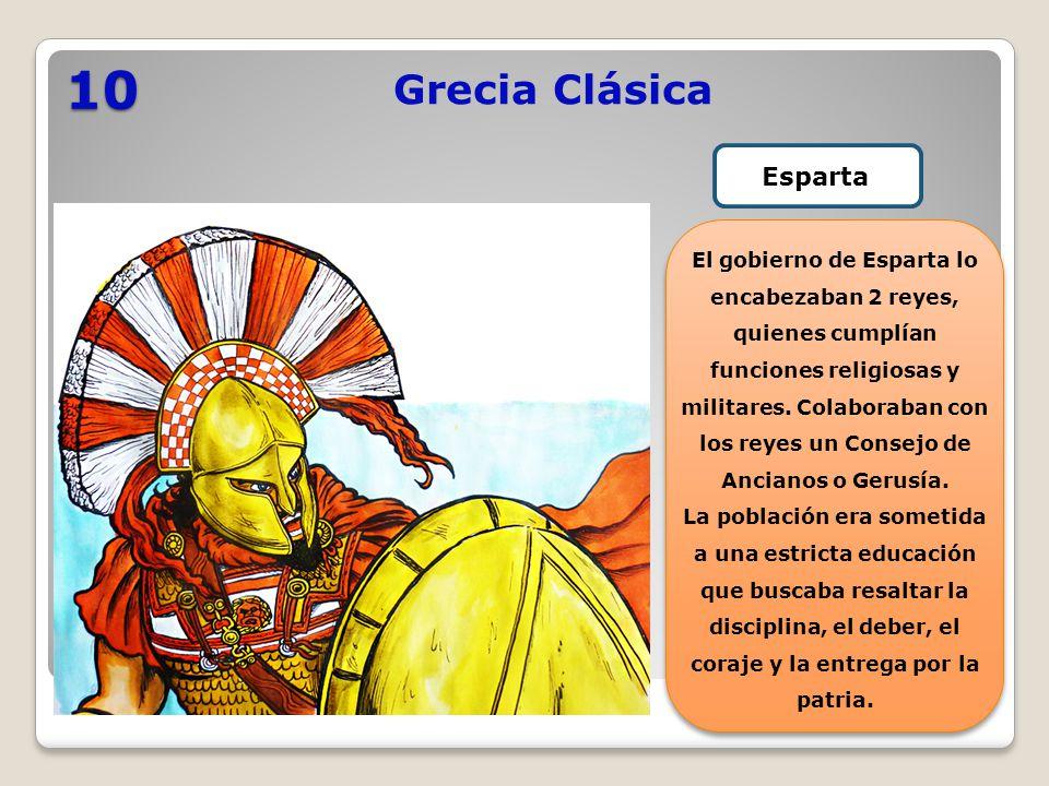10 Grecia Clásica Esparta