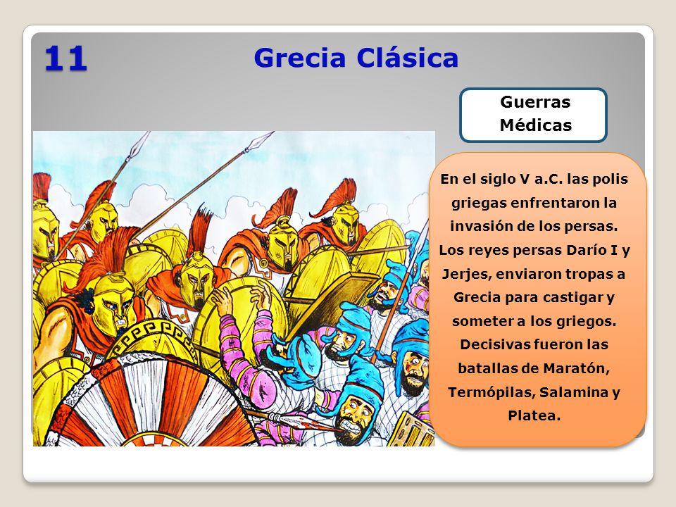 11 Grecia Clásica Guerras Médicas