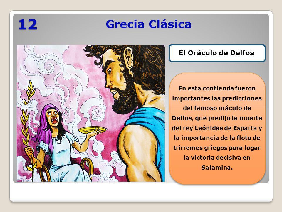 12 Grecia Clásica El Oráculo de Delfos