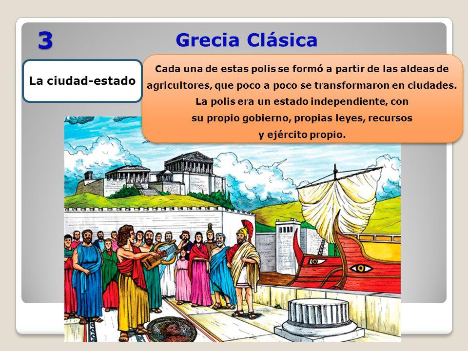 3 Grecia Clásica La ciudad-estado