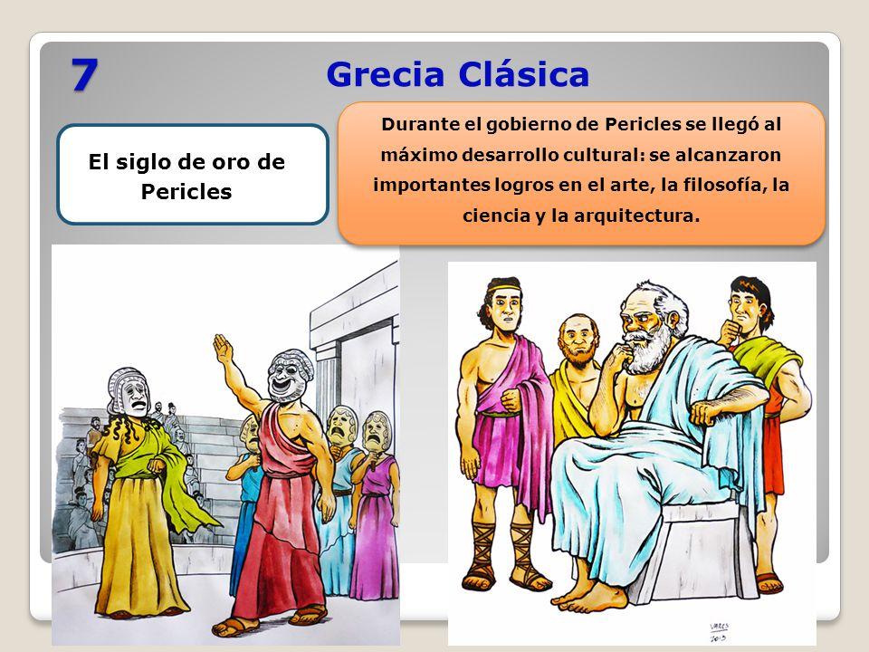 El siglo de oro de Pericles