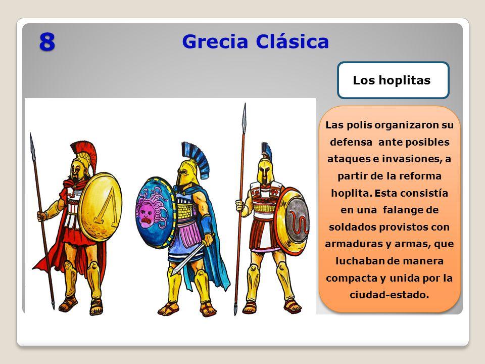 8 Grecia Clásica Los hoplitas