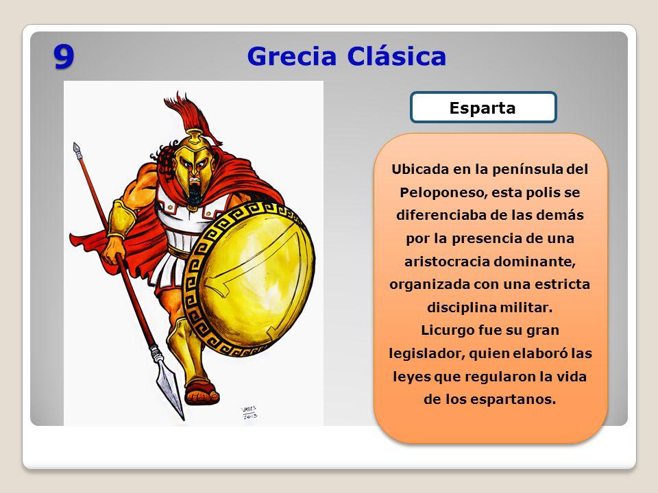 9 Grecia Clásica Esparta