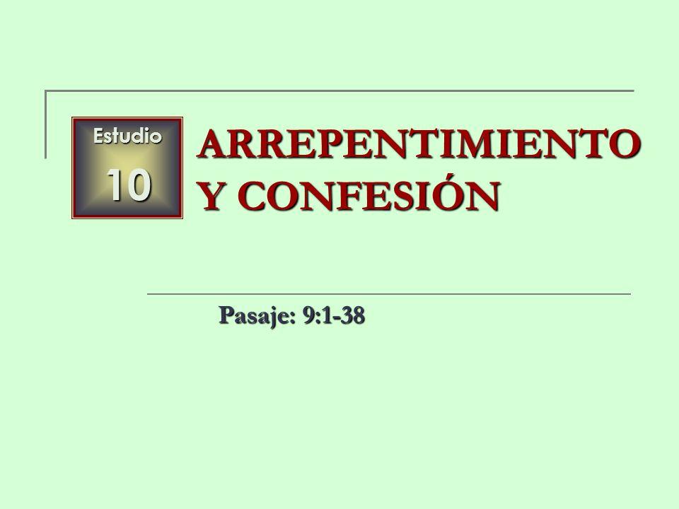 ARREPENTIMIENTO Y CONFESIÓN