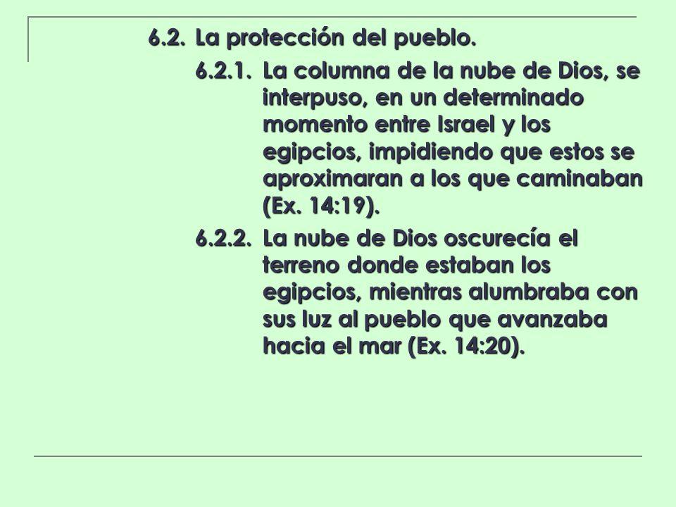 6.2. La protección del pueblo.