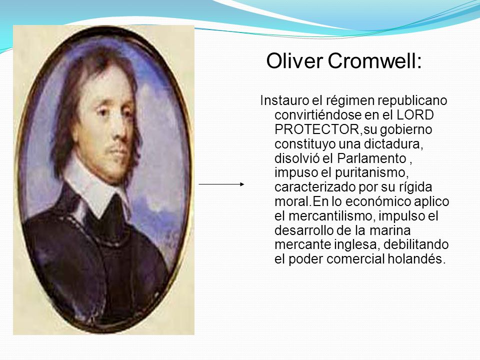 Oliver Cromwell: