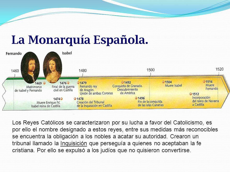 La Monarquía Española.