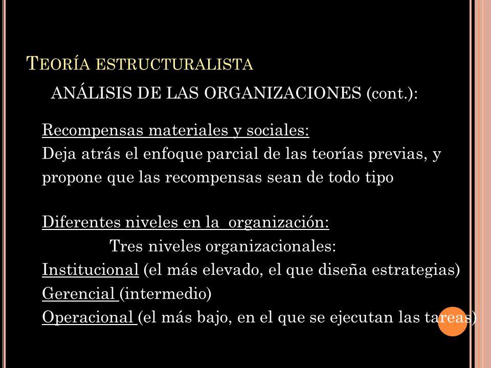 Teoría estructuralista