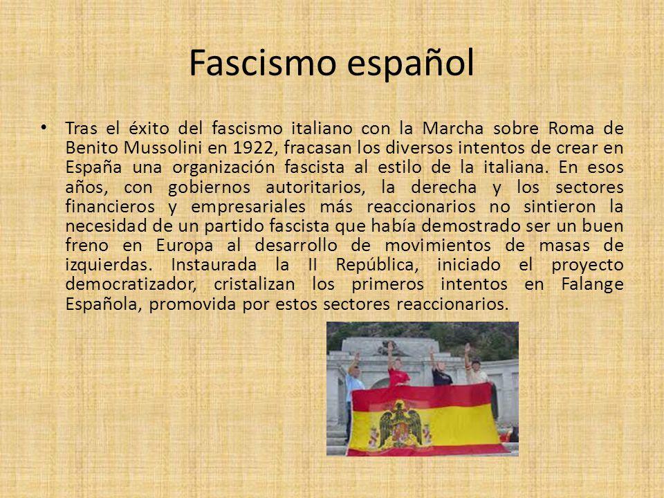 Fascismo español