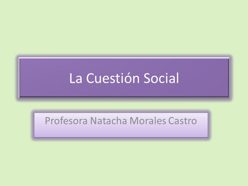 Profesora Natacha Morales Castro