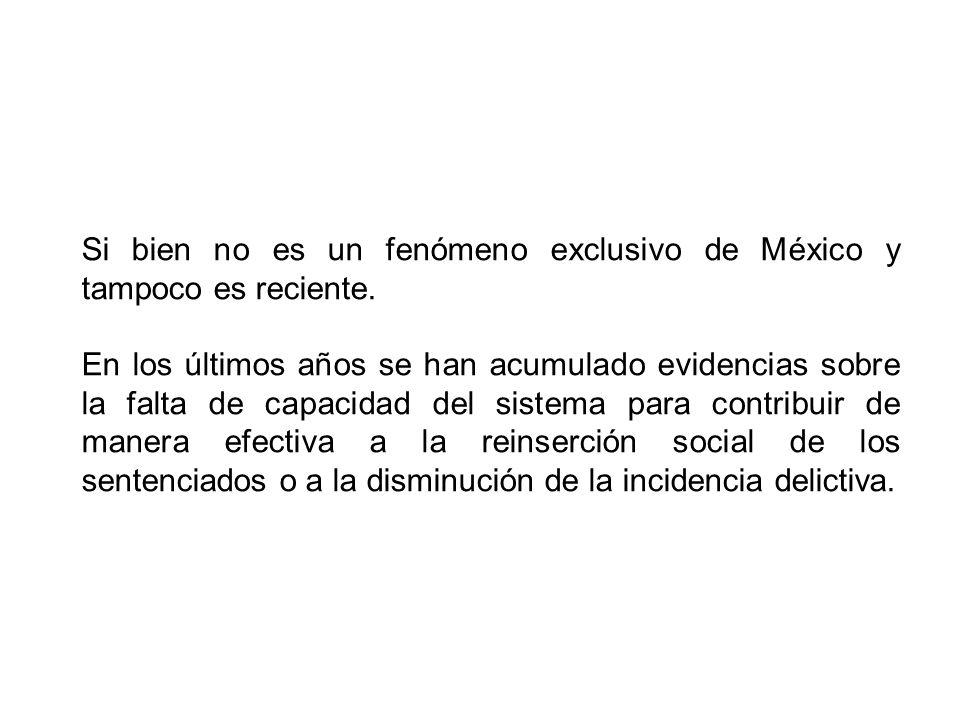 Si bien no es un fenómeno exclusivo de México y tampoco es reciente.